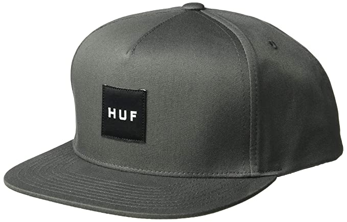 52adf9a365125 Amazon.com  HUF Men s ESSENTAILS Box Snapback HAT