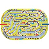 Big HABA Racing Magnetic Game - Wooden Maze Fun for 2 Children