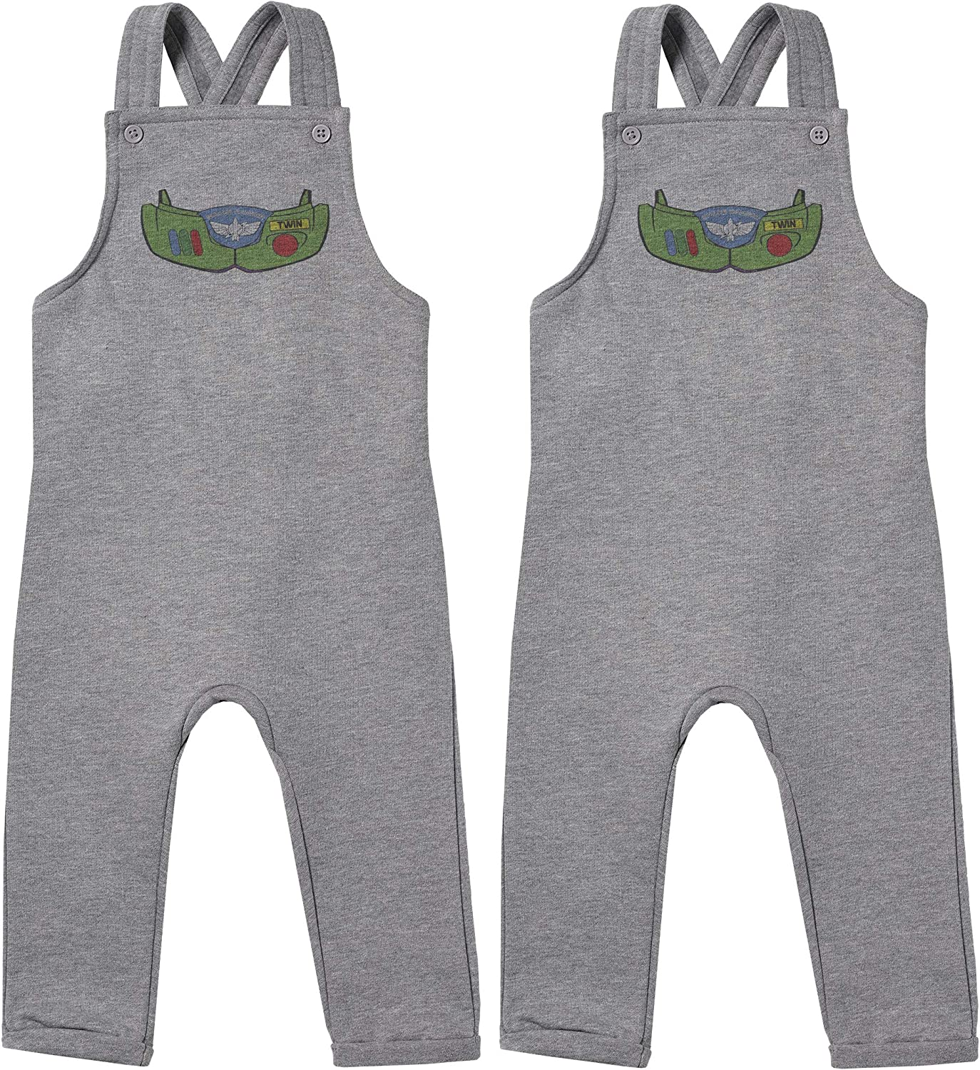Baby Twins Gift Baby Twins Clothing Space Armour Twin Boys Baby Twins Dungarees
