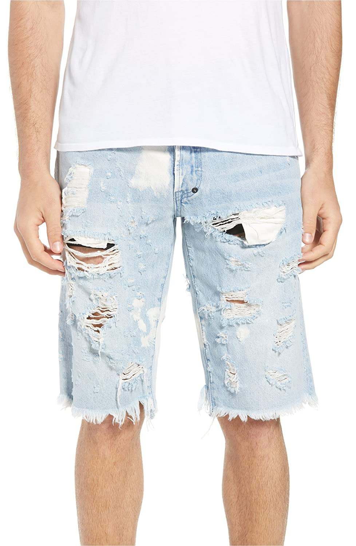 [PRPS] メンズ ハーフ&ショーツ PRPS Challenger Regular Fit Shorts (Ultr [並行輸入品] B07FP8R326 32