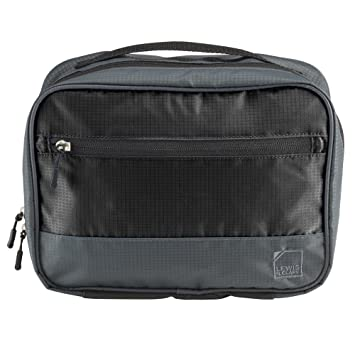 bd00a477264 Amazon.com   Lewis N. Clark Discovery Hanging Toiletry Kit, Charcoal    Packing Organizers