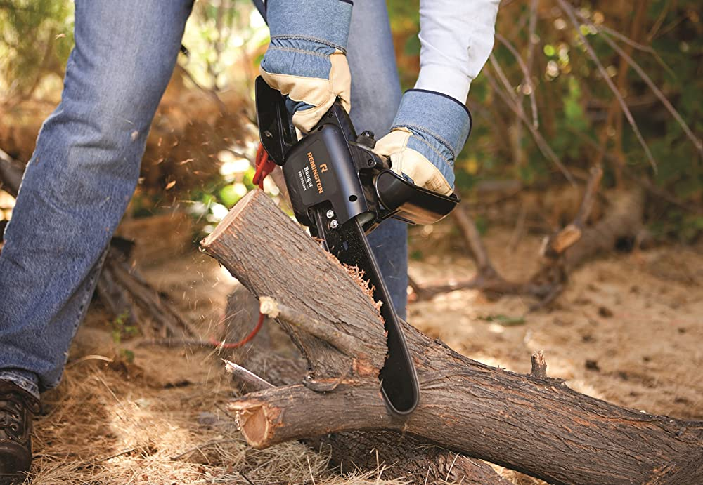 How To Cut Down A Tree With Electric Chainsaw
