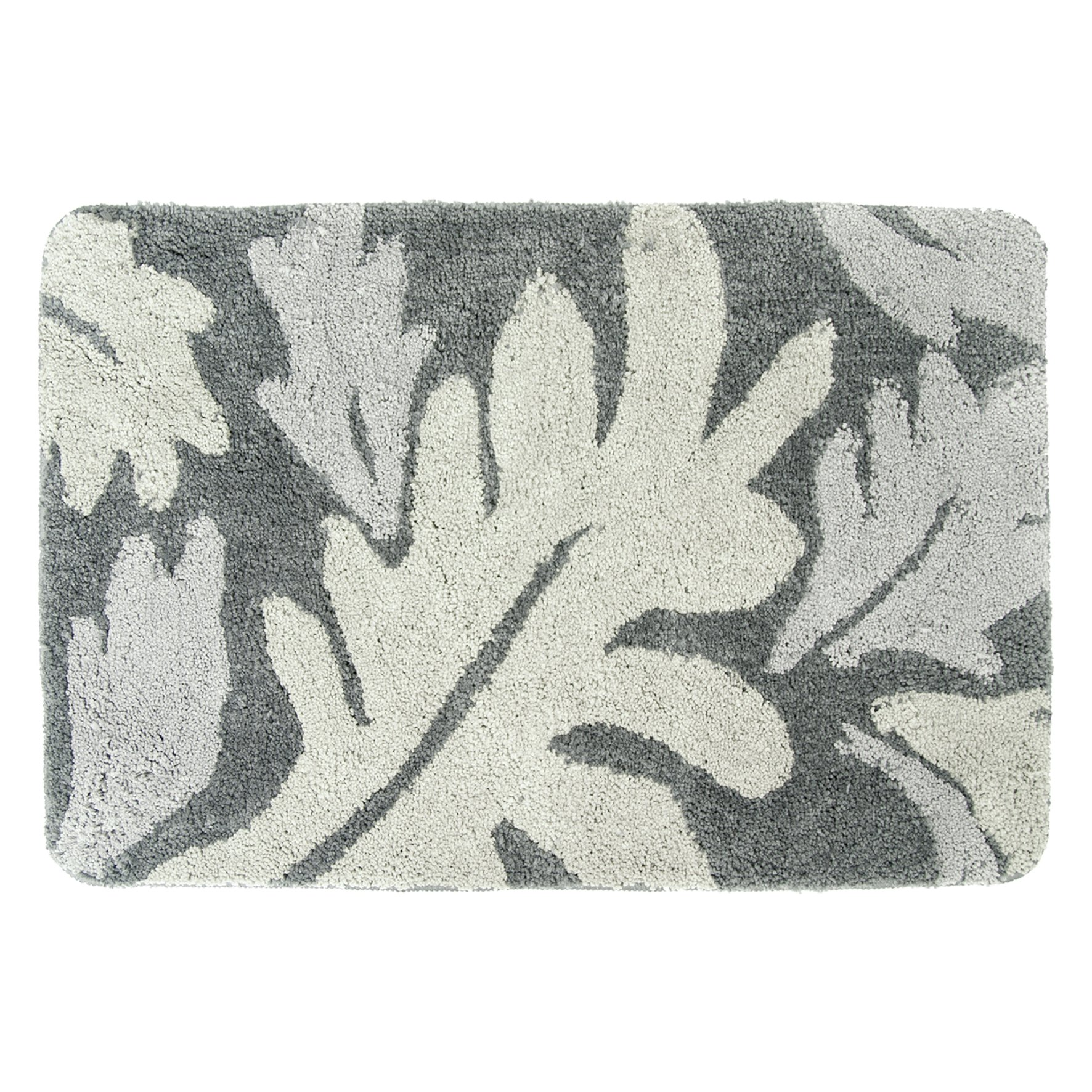 DIFFERNZ 31.220.46 Folia Bath Mat, Grey by Differnz
