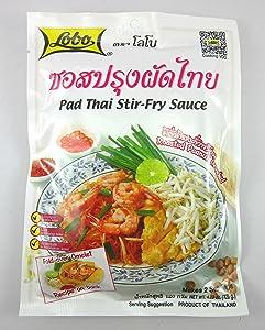 Lobo Pad Thai Stir-fry Sauce 120g (Pack of 3)