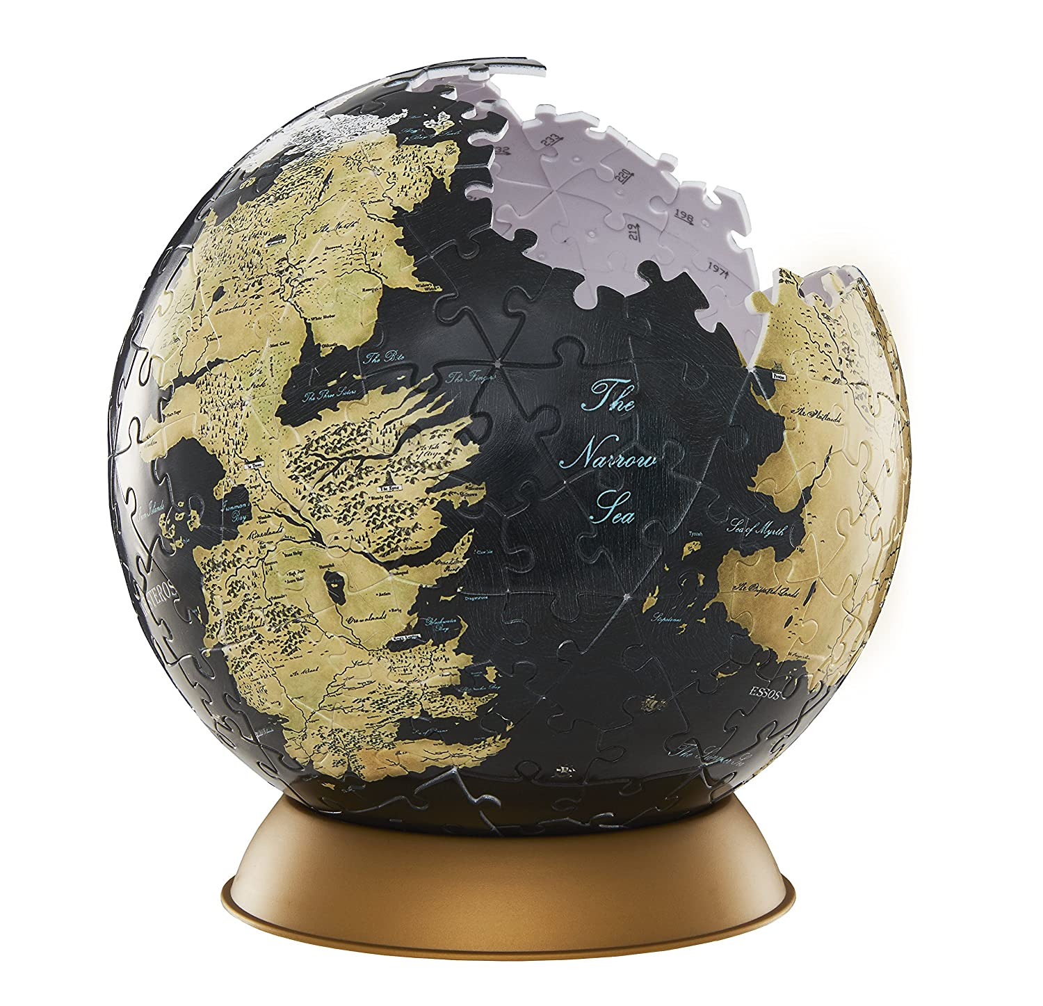 Game of Thrones Globe 6' Cityscape Inc 4d Game of Thrones Globe 6 4D CITYSCAPE INC 30002 Puzzles