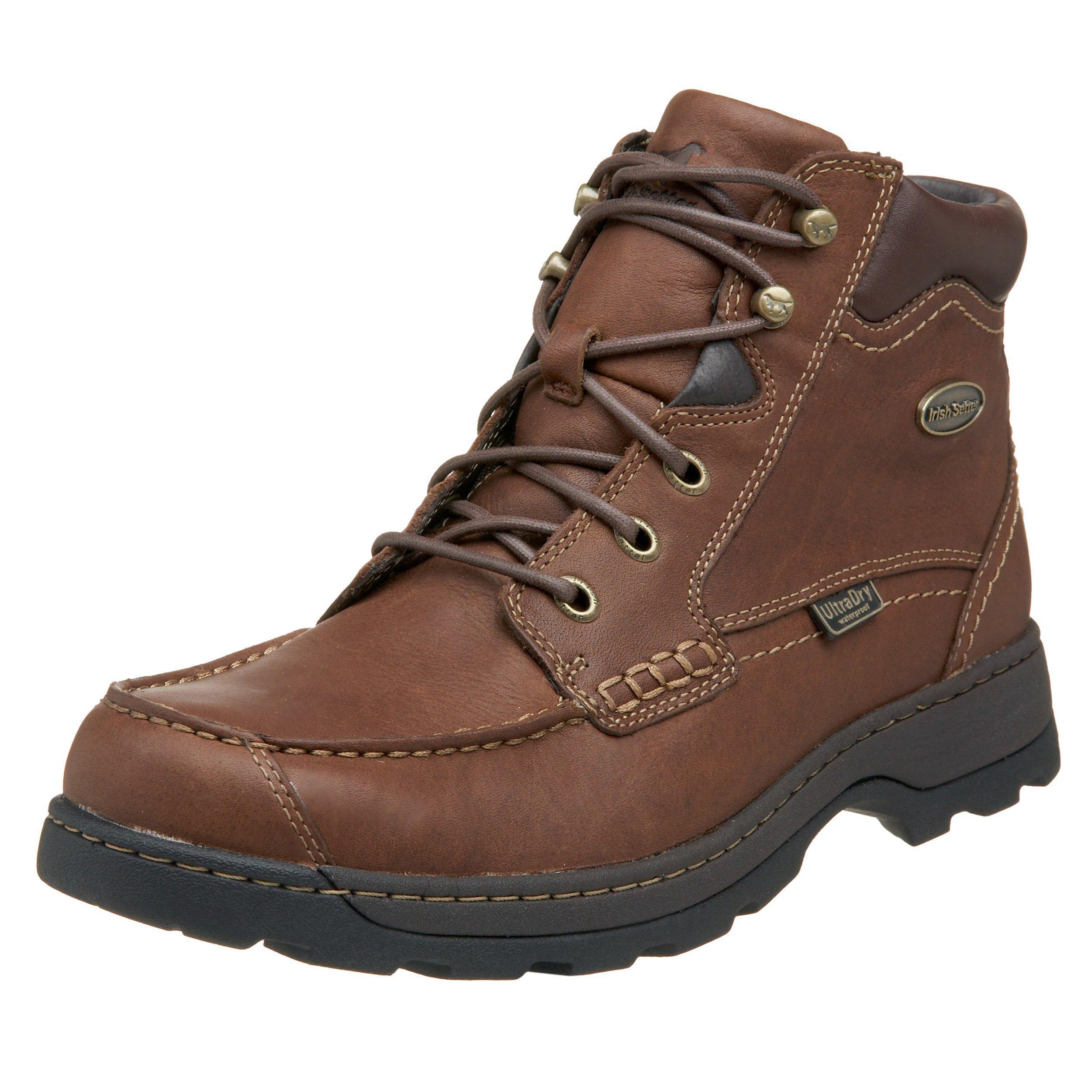 Irish Setter Men's 3875 Soft Paw Waterproof Chukka Casual Shoe,Brown,10.5 D US