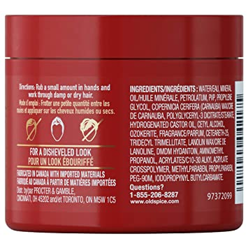ac980abc6 Amazon.com : Old Spice, Molding Putty for Men, Hair Treatment, Forge, 2.64  oz : Hair Styling Products : Beauty