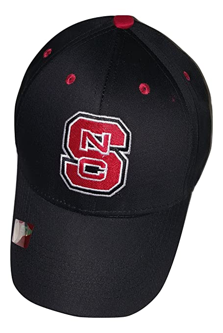 sale retailer 51988 85a3e ... reduced nc state wolfpack logo cap adjustable hat black 8a9e2 b3967