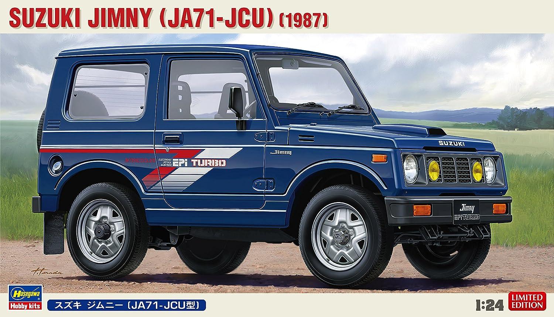 Amazon.com: Hasegawa HA20323 Suzuki Jimny (JA71-JCU) Model Kit, 1:24 Scale: Toys & Games