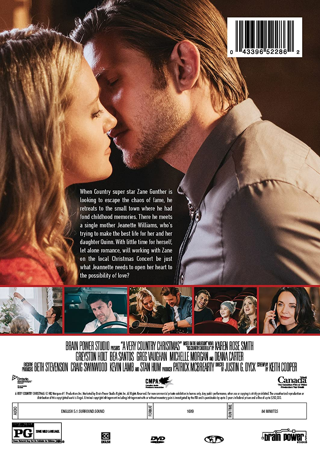 amazoncom a very country christmas greyston holt bea santos greg vaughan michelle morgan justin dyck movies tv - Country Christmas Movie