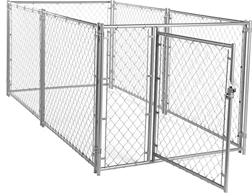 Lucky Dog CL 49150 Modular Chain Link Kennel, 6 x 10 x 10