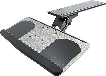 Vivo ajustable bandeja plataforma para teclado y ratón de ...