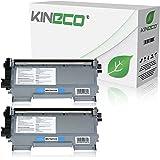 2 Toner kompatibel zu Brother TN2010 TN-2010 für Brother DCP-7055 W, DCP-7057, HL-2130 R, HL-2132 R, HL-2135 W - Schwarz je 3.000 Seiten