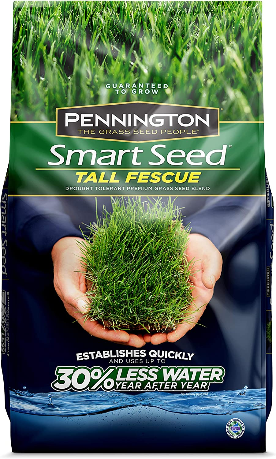 Pennington 100526677 Smart Tall Fescue Grass Seed, 7 lb, Old Version