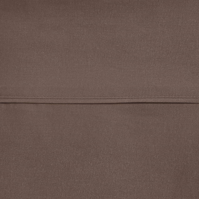 Basics Marrone 10 cm Lenzuolo in microfibra 240 x 320