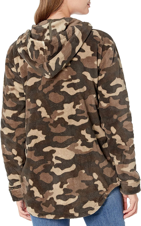 Volcom Juniors Under Wrapz Hooded Sherpa Jacket