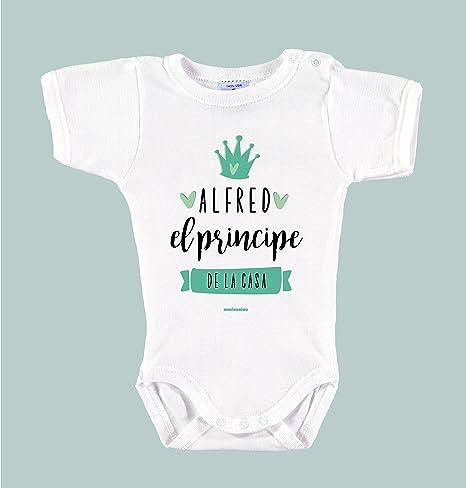 Body Bebé Personalizado con Nombre 100% Algodón Orgánico