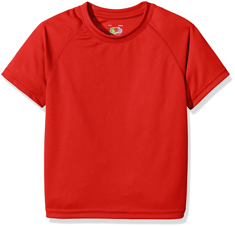 Fruit of the Loom Unisex Kids Performance T-Shirt 61-013-0