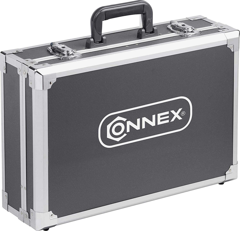 CONNEX COX566116 Maletín herramientas metálico (116 piezas): Amazon.es: Bricolaje y herramientas