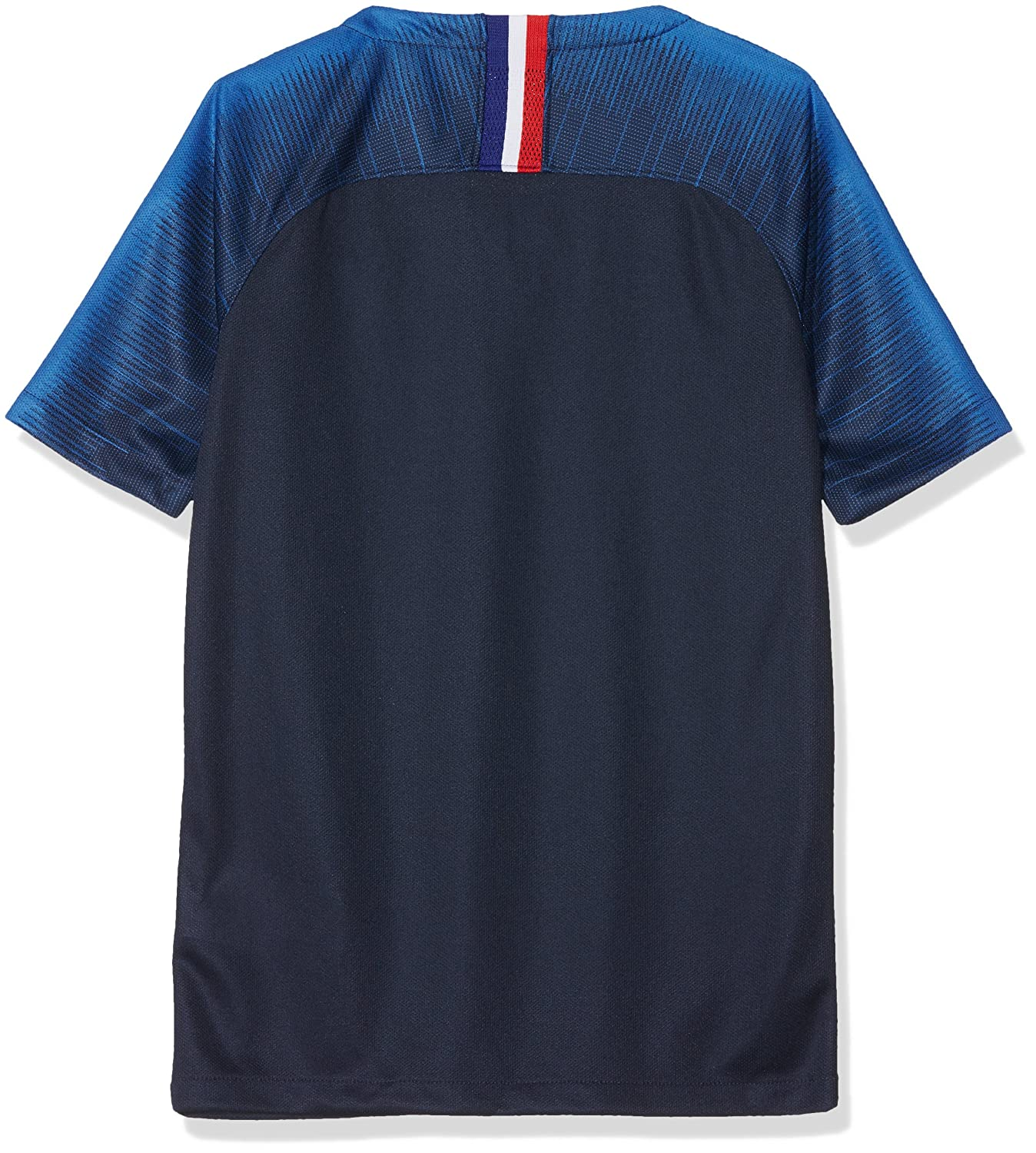 13d04b26 Amazon.com : NIKE 2018-2019 France Home Football Shirt (Kids) : Clothing