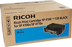 Ricoh 406997 SP 4100 4110 4210 4310 Type 120 Toner Cartridge (Black) in Retail Packaging