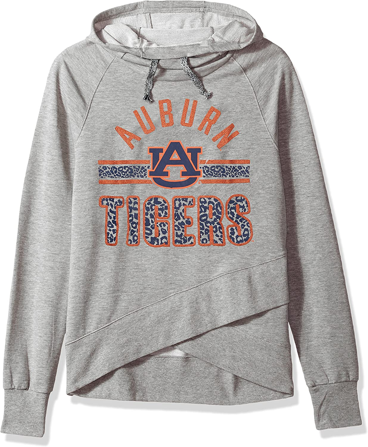 Outerstuff NCAA teen-girls NCAA Juniors Flow Funnel Neck Pullover Hoodie