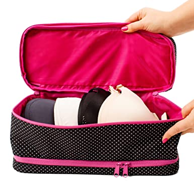 Large Travel Bra Organizer   Versatile Storage Bag For Women On Travel