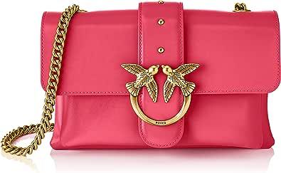Pinko, Love Mini Soft Simply 5 CL Vit para Mujer, Talla única