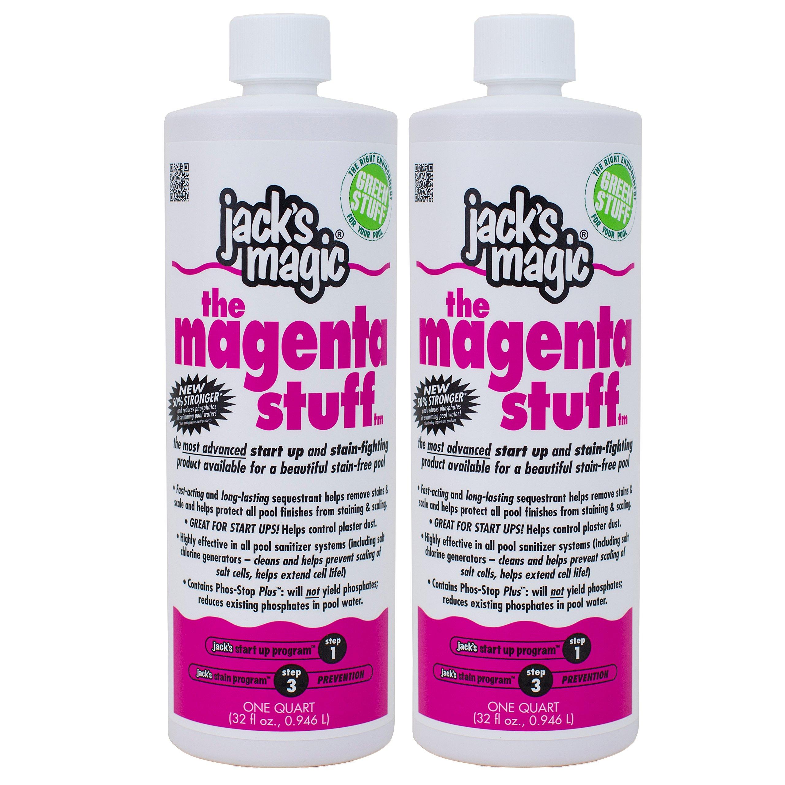Jack's Magic The Magenta Stuff (1 qt) (2 Pack) by Jack's Magic