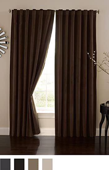 Absolute Zero 11718050X095CH Velvet Blackout Home Theater 50 Inch by  95 Inch Single Curtain. Amazon com  Absolute Zero 11718050X095CH Velvet Blackout Home