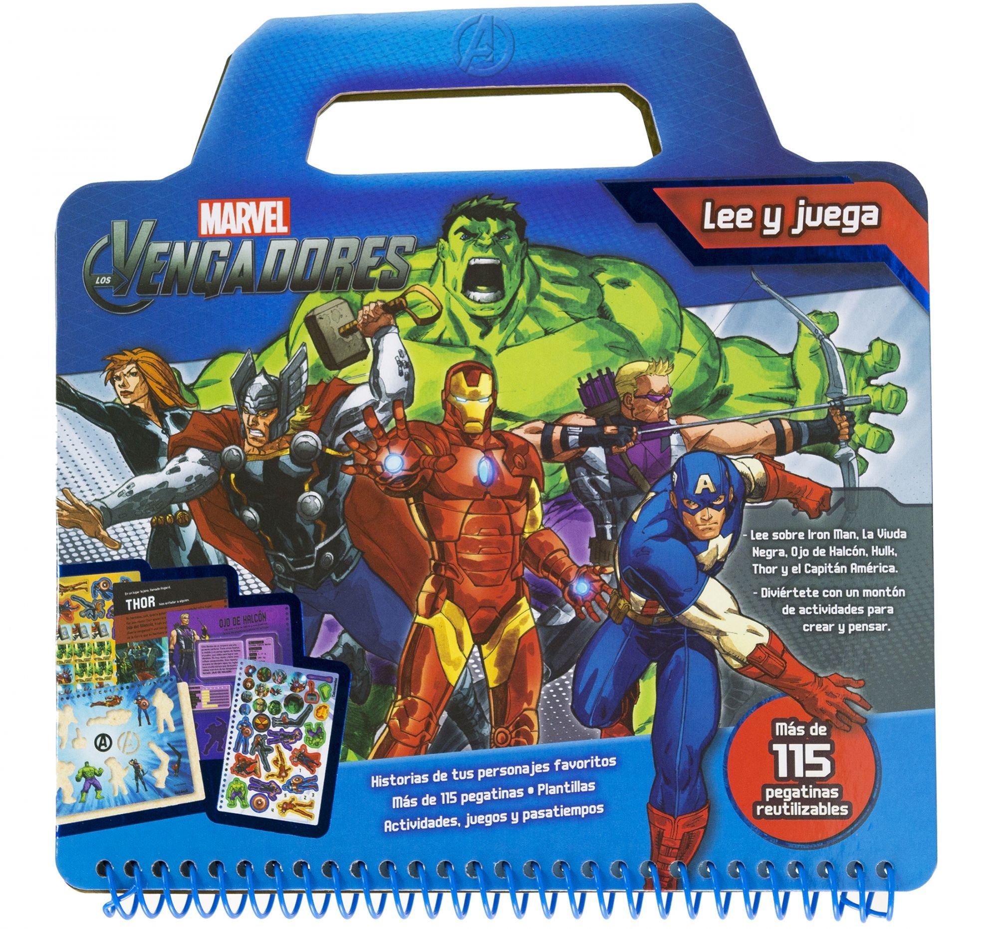Los Vengadores. Lee y juega: Marvel: 9788415343967: Amazon ...