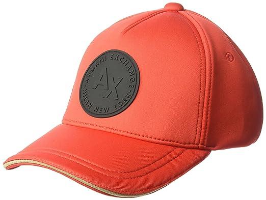Armani Exchange Gorra de béisbol para Hombre: Amazon.es: Ropa y ...