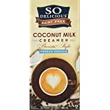 So Delicious Dairy Free Barista Style Coconut Milk Creamer French Vanilla