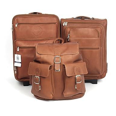 Amazon.com | Aston Martin Rapide Endeavor Leather Luggage Set by ...