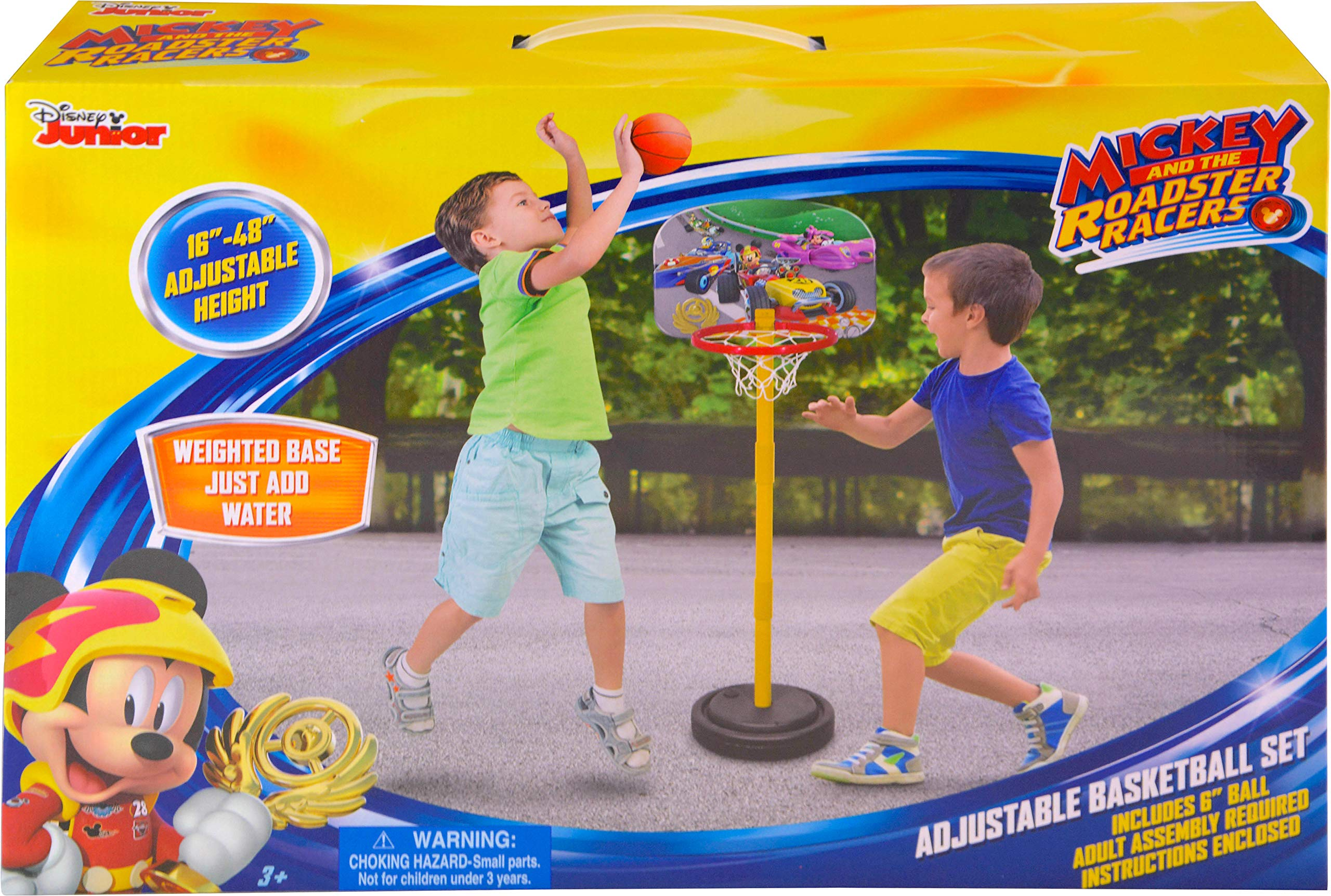 Disney Junior Mickey 48'' Basketball with Stand