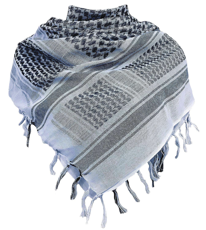 Chalier Militar Shemagh táctica desierto 100% algodón Keffiyeh bufanda Wrap B07G47K25W