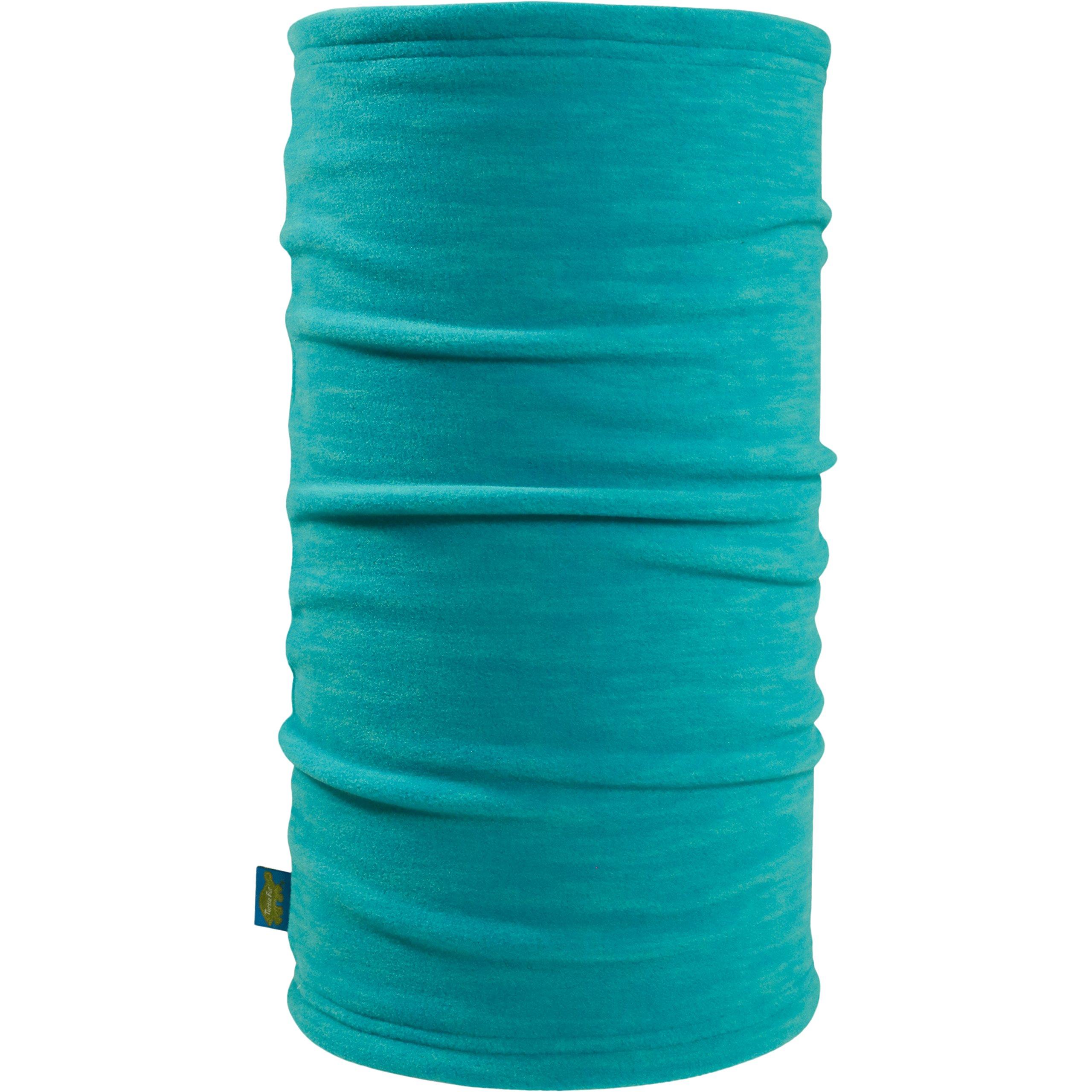 Turtle Fur Tube Midweight Polartec Thermal Pro Stria Fleece Neck Warmer, Wave, One Size