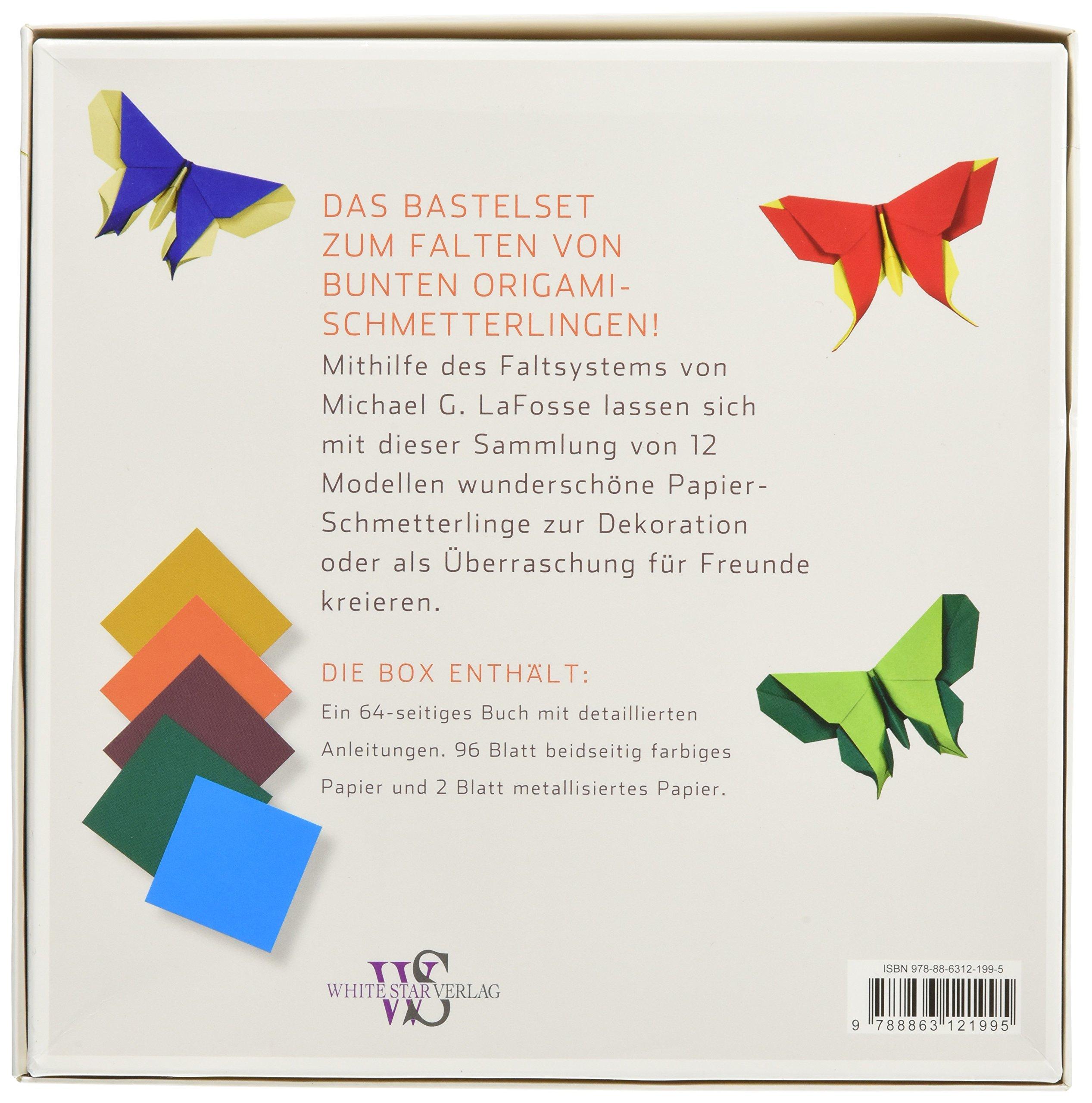 Origami Buch Schmetterlinge 18 Detaillierte Falt