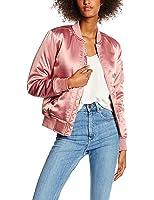 Urban Classic Damen Jacke Ladies Satin Bomber Jacket