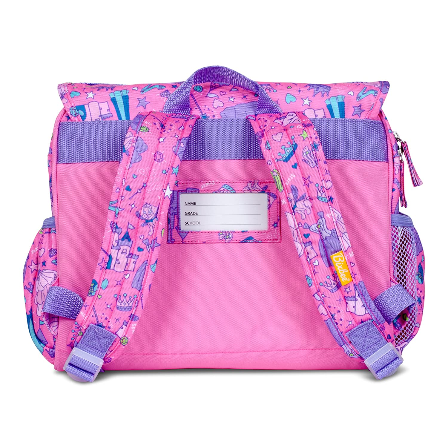 97ed445a07e6 Amazon.com: Bixbee Girls' Princess Fairy Backpack and Lunchbox Kid's ...