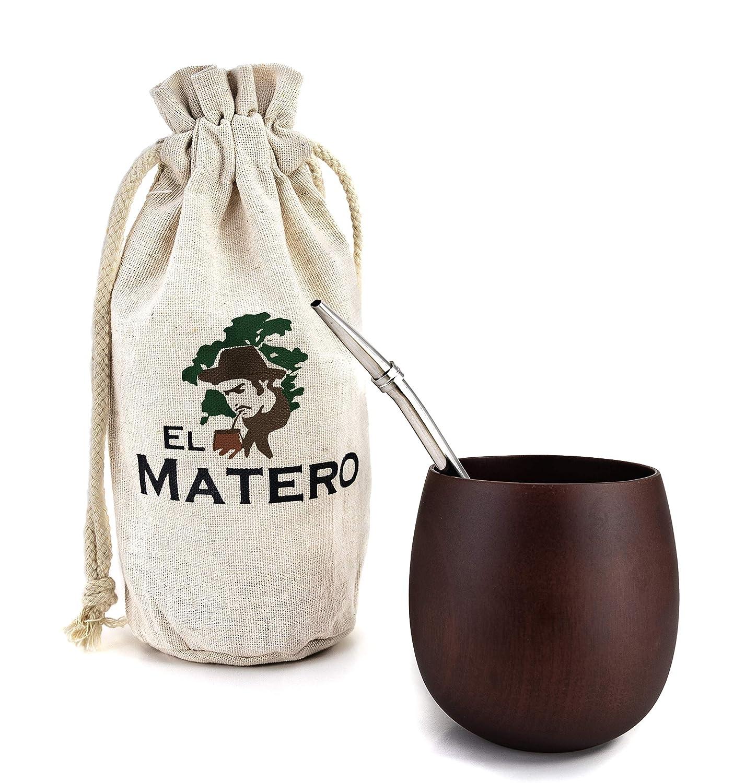 Amazon.com: El Matero - Calabaza de madera de jujube con ...