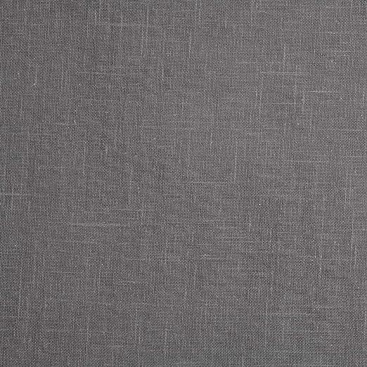 HOGARYS Telas por Metro Algodon y poliéster Liso Tintado para Cortinas, decoración, Costura y Manualidades - Sicilia Bicolor Gris.M1E: Amazon.es: Hogar