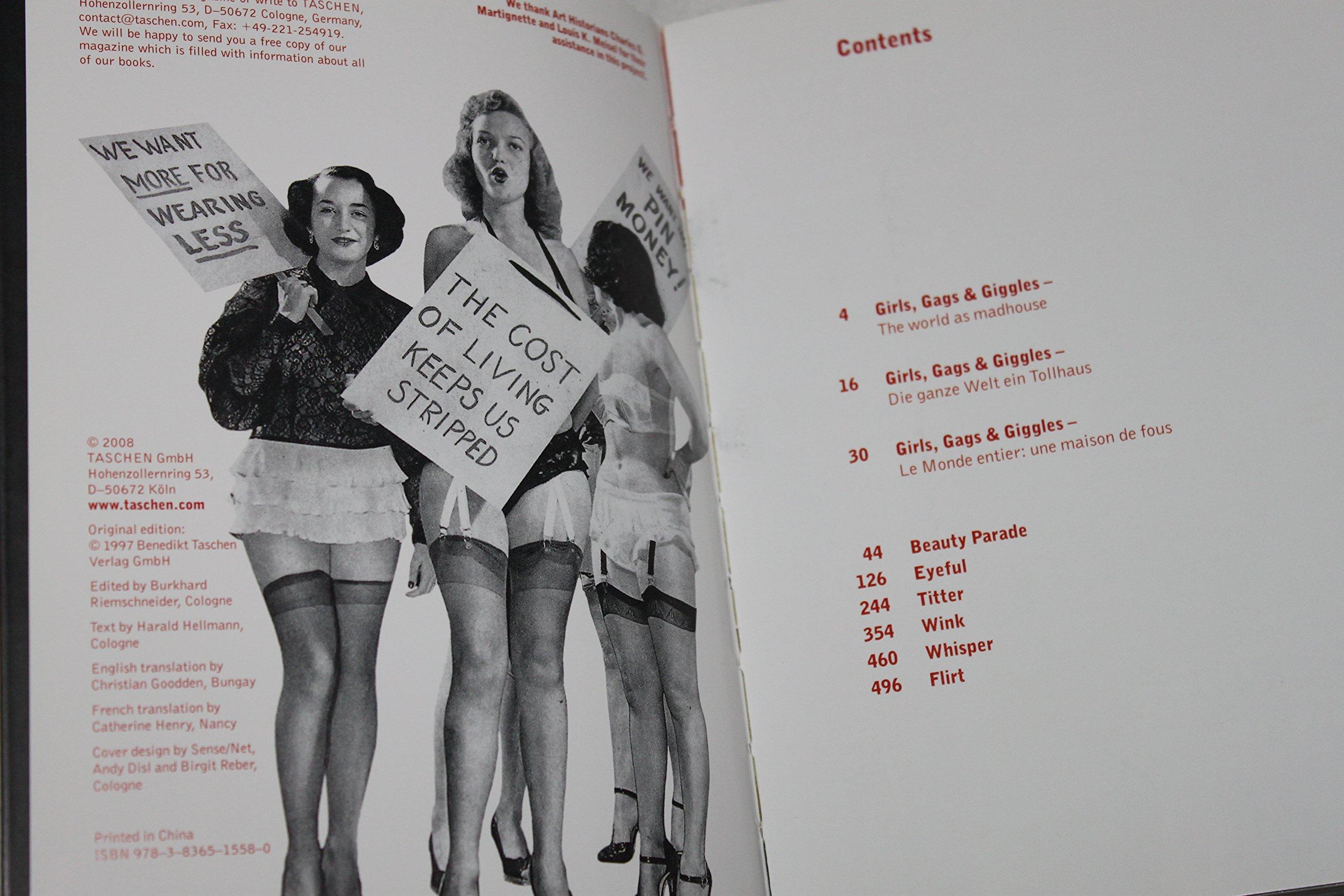 1000 pin up girls: twenty fifth anniversary edition: burkhard