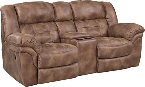 Deal of the week: ComfortMax Furniture Metcalfe 129 Reclining Console Loveseat
