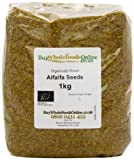 Buy Whole Foods Organic Alfalfa Seeds 1 Kg