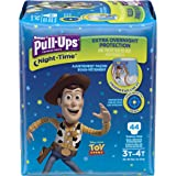Pull-Ups Night-Time Training Pants for Boys, 3T-4T (32-40 lbs.), Pack of 2 (44 Count), Overnight Potty Training Underwear, Packaging May Vary