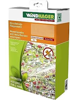 Windhager Kirschessigfliegen Netz Schutz Vor Insekten Und Vögel Für  Obstbäume, Weiß, 4 X