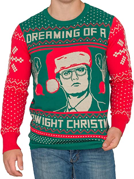 The Office Dwight Schrute Christmas Beets Ugly Christmas Sweater