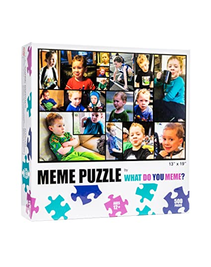 What Do You Meme Gavin From Vine 500 Piece Jigsaw Puzzle