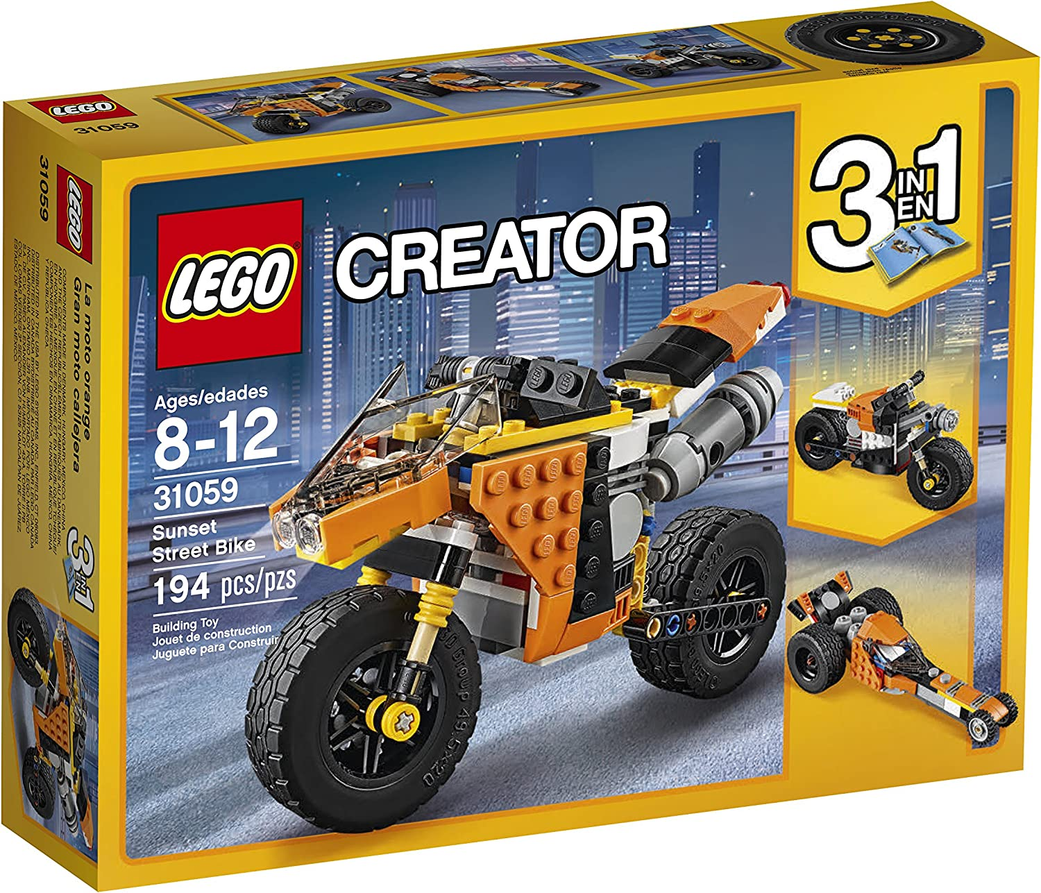 Top 7 Best LEGO Motorcycle Sets Reviews in 2020 7